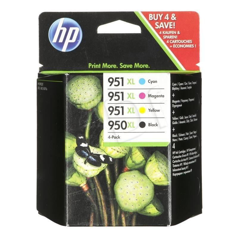 HP Tusz HP zestaw HP 950XL+HP 951XL HP950XL+HP951XL=C2P43AE zawiera CMYBK CN045AE+CN046AE+CN047AE+CN048AE