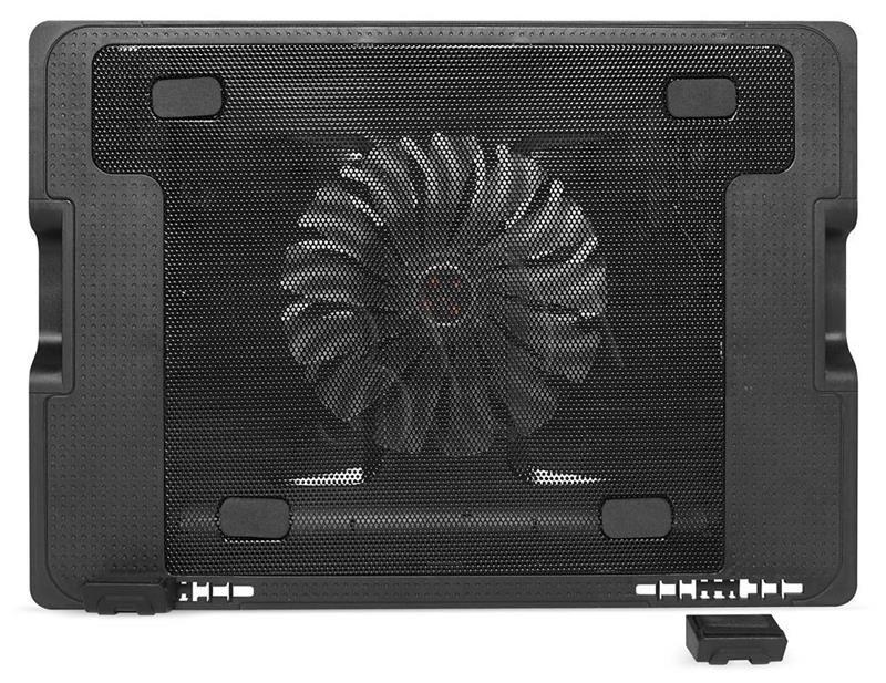 Media-Tech Media Tech podstawka chłodząca pod notebooka MT2658 15 6 czarny
