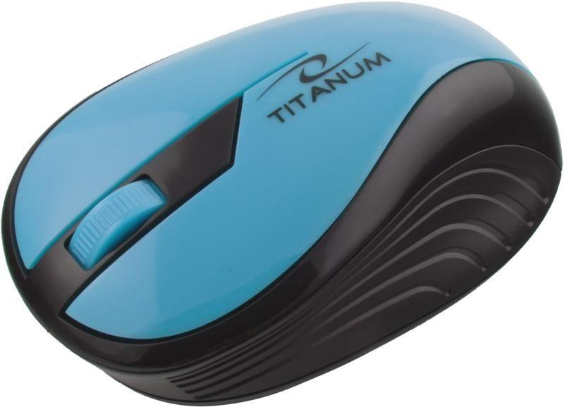 Esperanza Mysz bezprzewodowa RAINBOW TM114T optyczna turkusowa