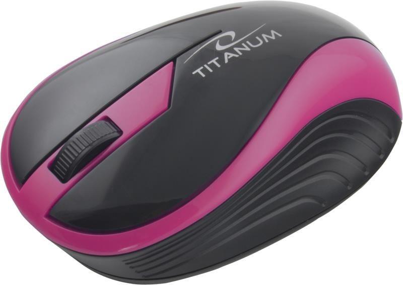 Esperanza Mysz bezprzewodowa TM113R BUTTERFLY optyczna różowa