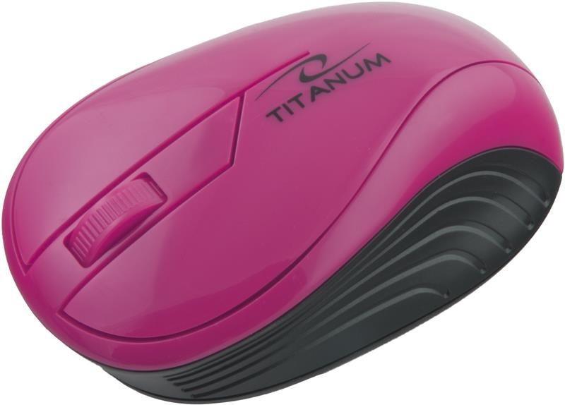 Esperanza Mysz Neon TM115P Różowa TM115P