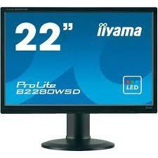 iiyama MONITOR 22'' B2280WSD DVI/D-sub/pivot/glosniki /IIYAMA