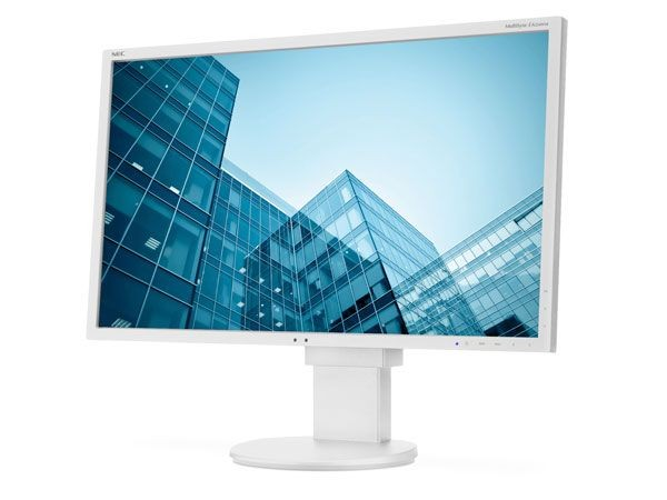 NEC EA224WMi - 21.5 LCD monitor with LED backlight, IPS panel, resolution 1920x1080, VGA, DVI, DisplayPort, HDMI, speakers, 130 mm height adjustable