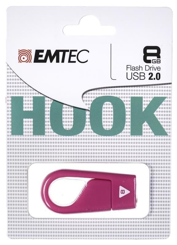 Emtec Pendrive 8GB Hook D202