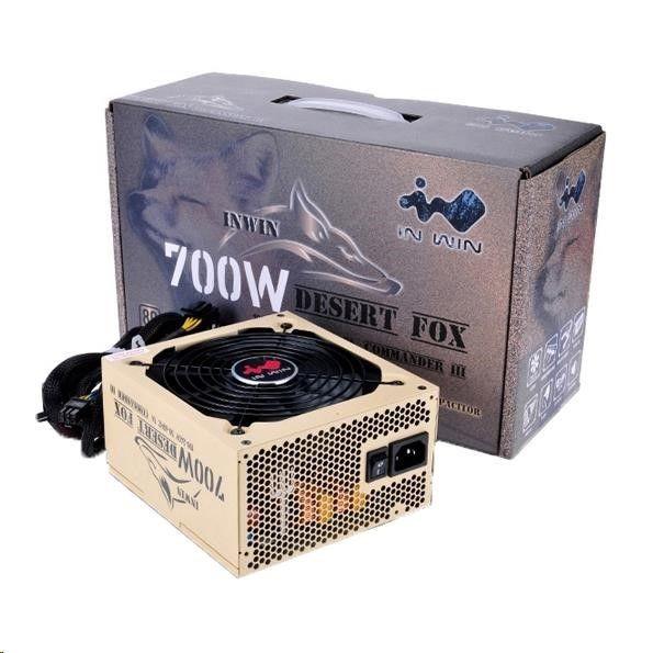In Win IN WIN zdroj ATX 700W Commander III - 80+ Gold