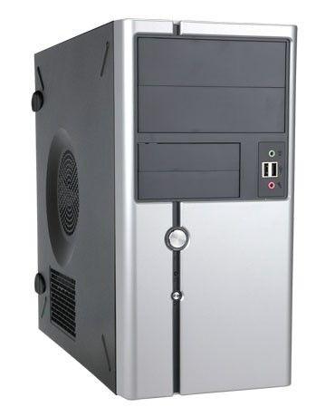 In Win IN WIN skříň Z611 mATX 350W 12cm-FULL SAFETY PSU/USB 3.0/ HD audio, Black/Silver