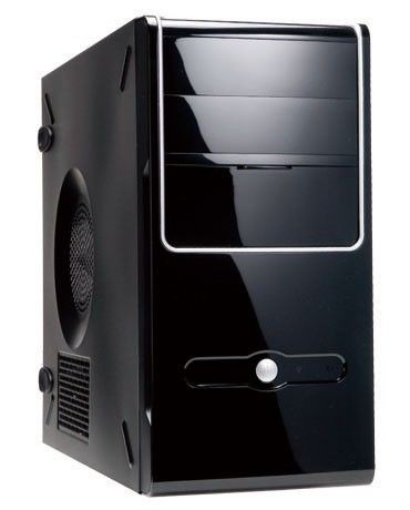 In Win IN WIN skříň Z637 mATX 350W 12cm-FULL SAFETY PSU/USB 3.0/ HD audio, Black