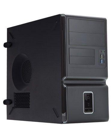 In Win IN WIN skříň Z653 mATX 350W 12cm-FULL SAFETY PSU/USB 3.0/ HD audio, Black