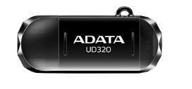 A-Data Adata pamięć USB OTG USB UD320 32GB USB 2.0, USB + micro USB , RETAIL Czarny