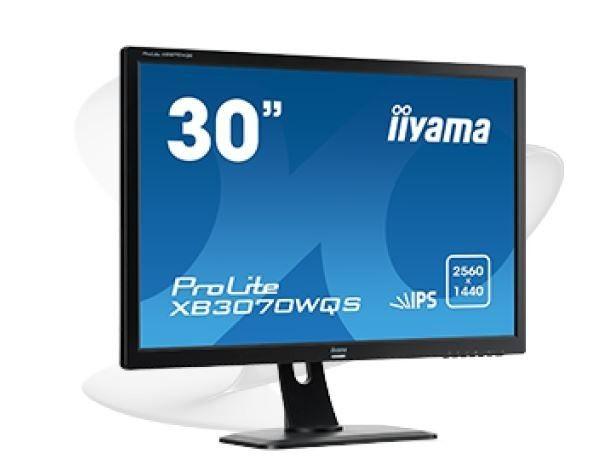 iiyama Monitor XB3070WQS-B1 30inch, IPS, WQS, HDMI, DP, HDCP, głośniki