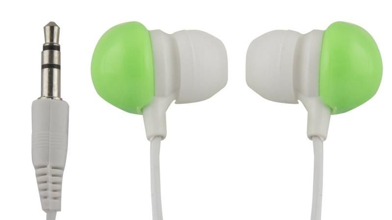 Esperanza Słuchawki Douszne Audio Stereo BUBBLE GUM EH151G Zielone