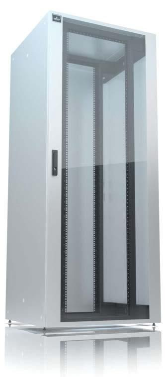 Emerson Network Power Knurr szafa Instarack LAN 42U 800X1000mm 4x panel boczny, do montazu
