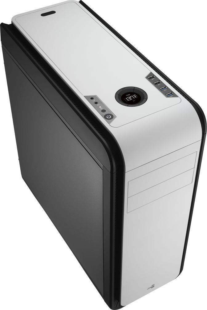 Aerocool DS 200 BLACK / WHITE Obudowa ATX, USB 3.0, bez zasilacza