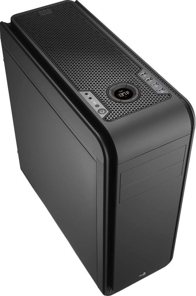 Aerocool DS 200 BLACK Obudowa ATX, USB 3.0, bez zasilacza
