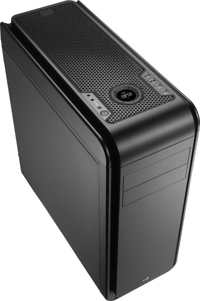 Aerocool DS 200 LITE BLACK Obudowa ATX, USB 3.0, bez zasilacza
