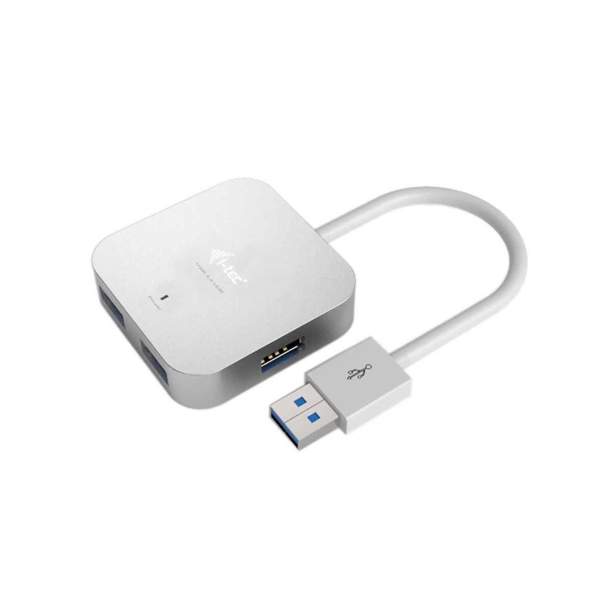 Pretec i-tec USB 3.0 Metal Passive HUB 4 Port for Notebook Ultrabook Tablet PC
