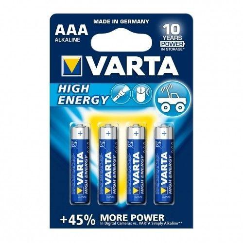 VARTA BATERIE ALKALICZNE R3 (AAA) 4szt High Energy
