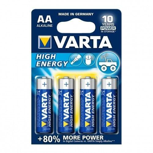VARTA BATERIE ALKALICZNE R6 (AA) 4szt High Energy