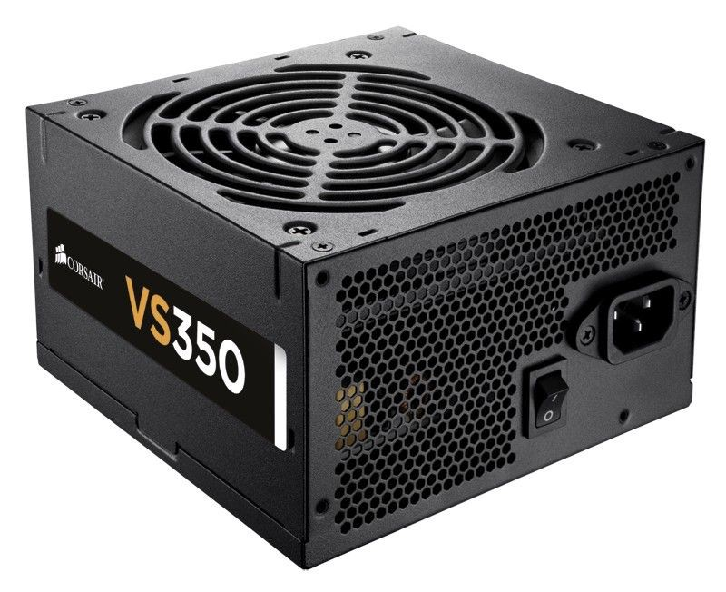 Corsair zasilacz VS 350W ATX12V, 120mm fan, EU version, 80 PLUS