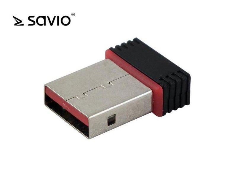 Elmak SAVIO CL-43 Karta Wifi 802.11/n USB 150Mbps