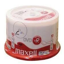 Maxell DVD-R 4,7 GB 16x PRINTABLE CAKE 50 szt
