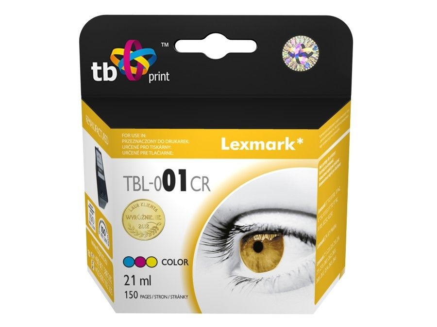 TB Print Tusz do Lexmark Z730 TBL-001CR Kolor ref.