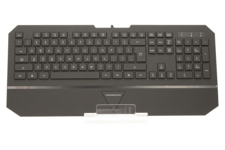 ModeCom Przewodowa Klawiatura Podświetlana MC-800W (Białe podświetlenie)