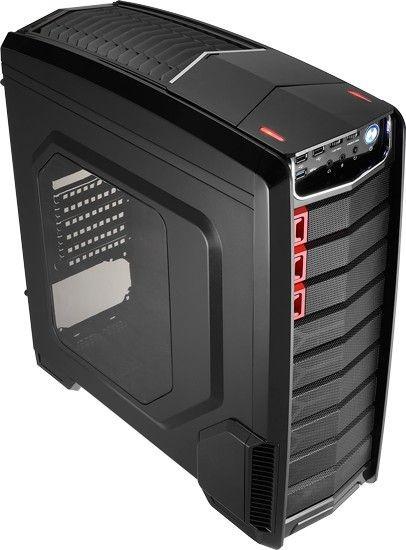 Aerocool GT-A BLACK Obudowa ATX, USB 3.0, bez zasilacza