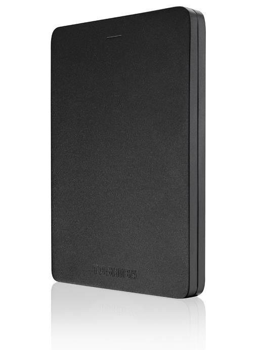 Toshiba Dysk zewnętrzny Toshiba 1TB 2,5 CANVIO ALU 3S black