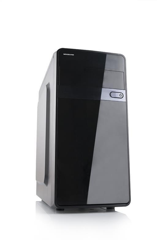 ModeCom Obudowa TREND Mini USB 3.0 x 1 / USB 2.0 x 2 /HD-AUDIO / bez zasilacza