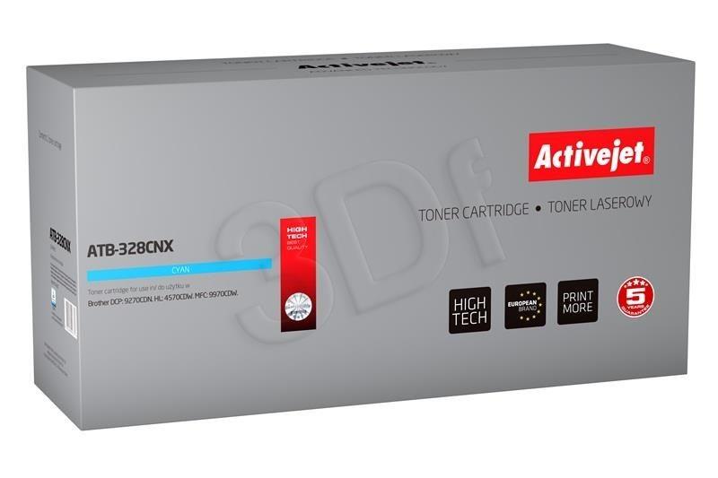 ActiveJet Toner ActiveJet ATB-328CNX | Cyan | 6000 pp | Brother TN-328C