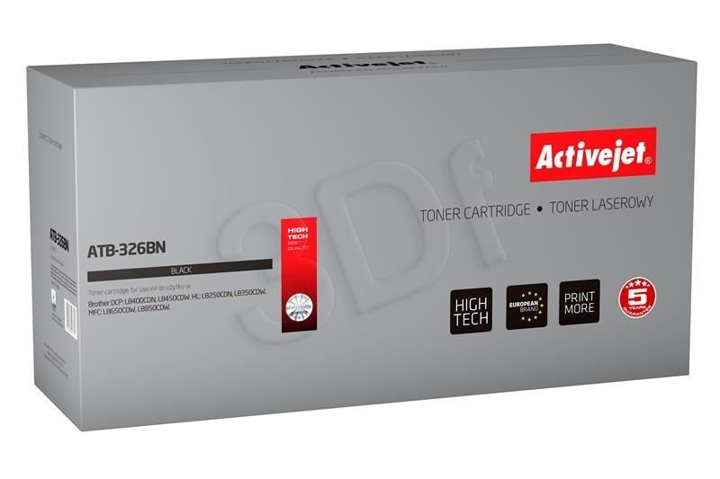 ActiveJet Toner ActiveJet ATB-326BN | Czarny | 4000 pp | Brother TN-326BK
