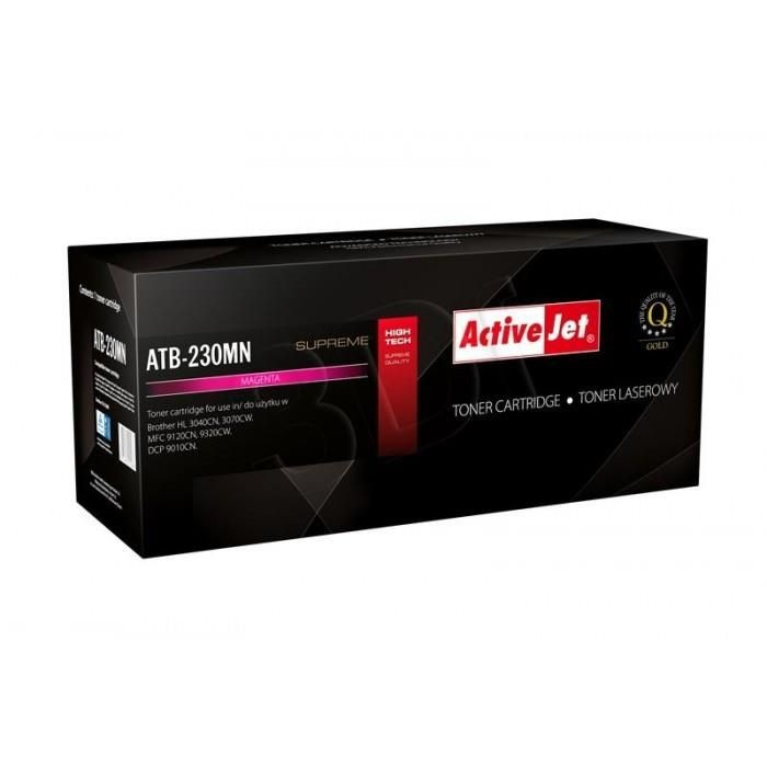 ActiveJet Toner ActiveJet ATB-230MN | Magenta | 1400 pp | Brother TN-230M