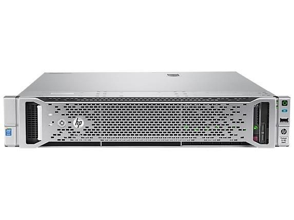 HP DL180 Gen9, E5-2609v3, H240, 2x1GbE, 1x8GB, 4-LFF NHP, no Optical, 1x550W