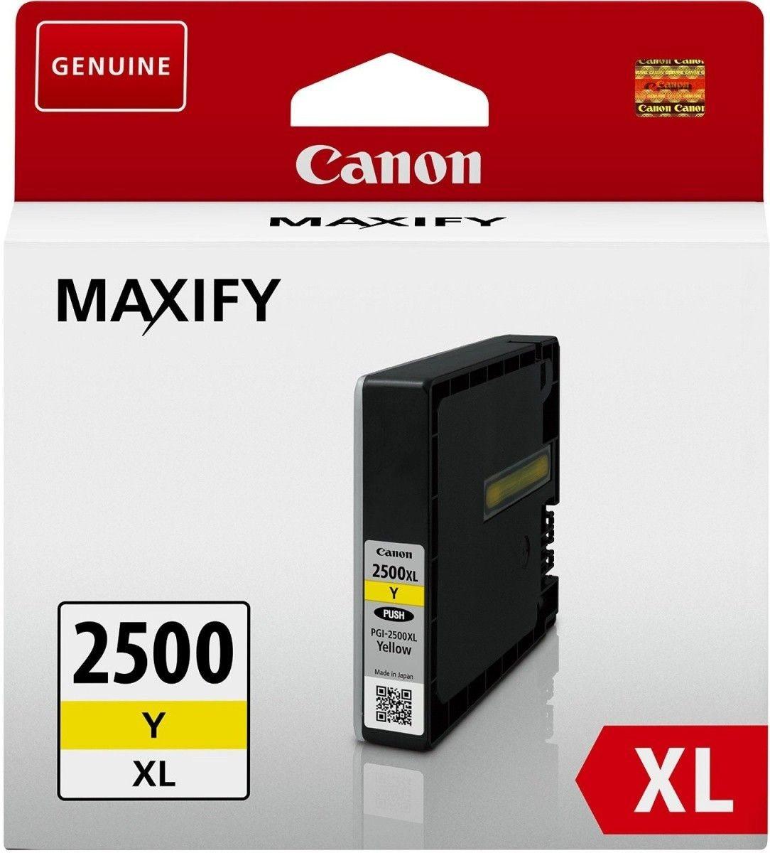 Canon Tusz PGI2500XLY yellow MB5050, MB5350