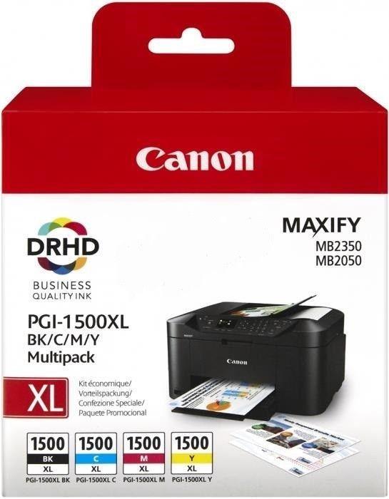 Canon Tusz PGI1500XL BK/C/M/Y Multi MB2050/MB2350