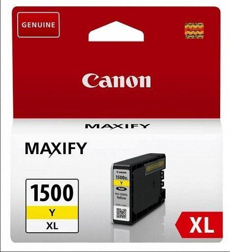 Canon Tusz PGI1500XLY yellow MB2050/MB2350