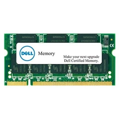 Dell 8 GB Memory Module for selected Systems DDR3L-1600 SODIMM 3RX8 Non-ECC LV2RX8