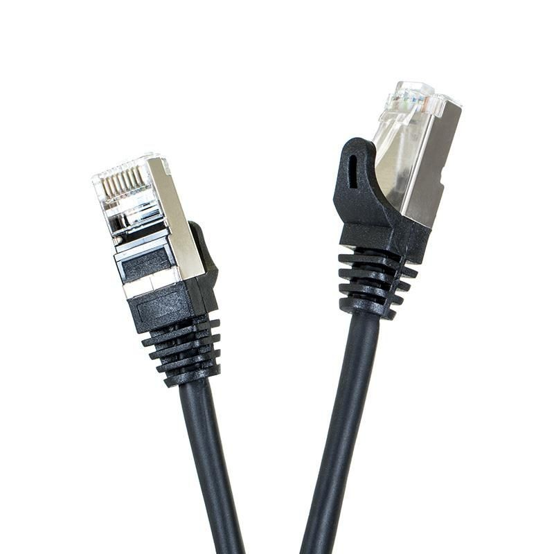 Digitalbox START.LAN patchcord RJ45 kat.5e FTP 1m czarny