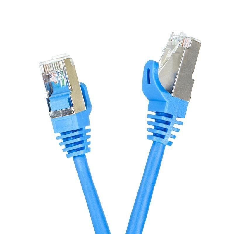 Digitalbox START.LAN patchcord RJ45 kat.5e FTP 2m niebieski