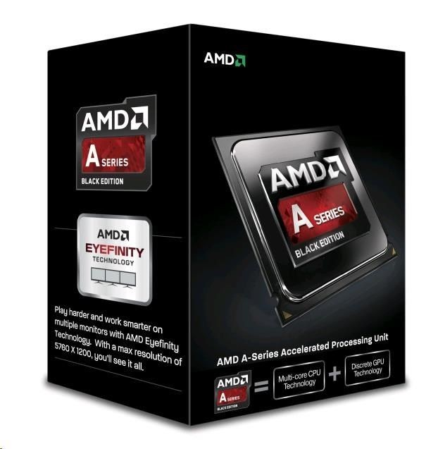 AMD APU A4-7300, Dual Core, 3.80GHz, 1MB, FM2, 32nm, 65W, VGA, BOX