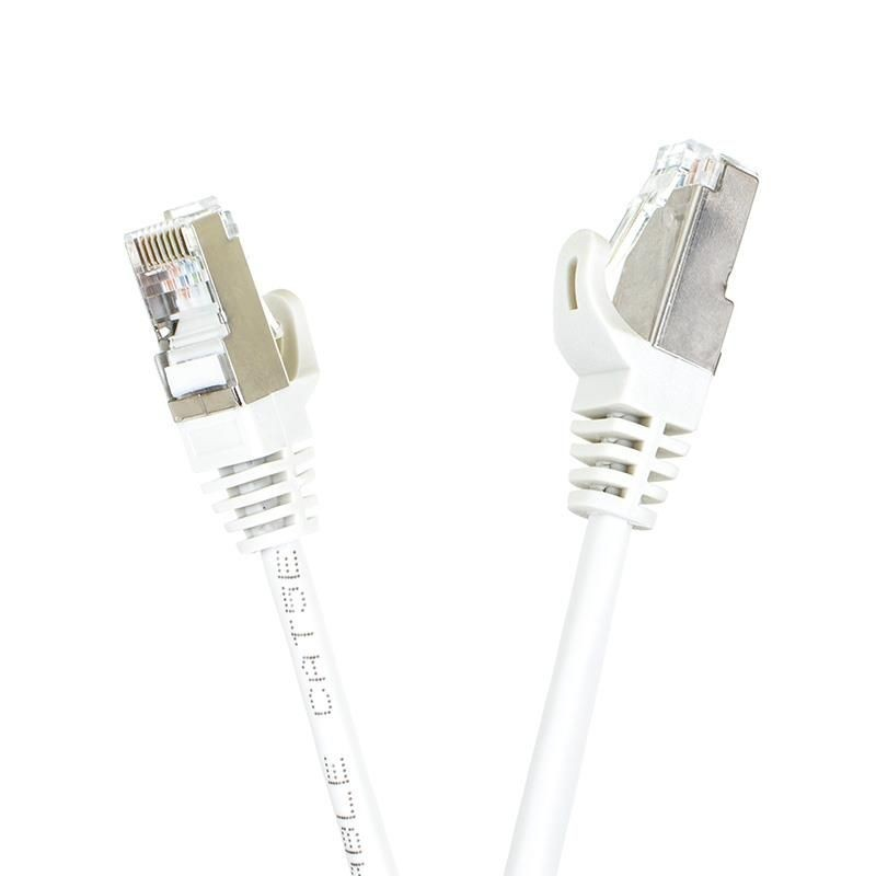 Digitalbox START.LAN patchcord RJ45 kat.5e FTP 10m szary