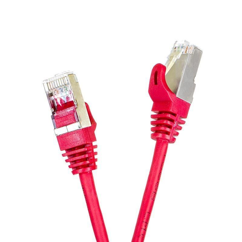 Digitalbox START.LAN patchcord RJ45 kat.5e FTP 10m czerwony