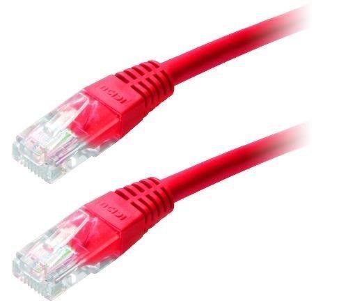 LYNX Patch kabel Cat6, UTP - 1m, červený