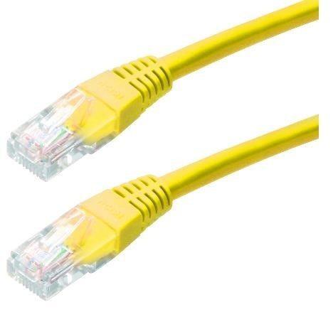 LYNX Patch kabel Cat6, UTP - 2m, žlutý