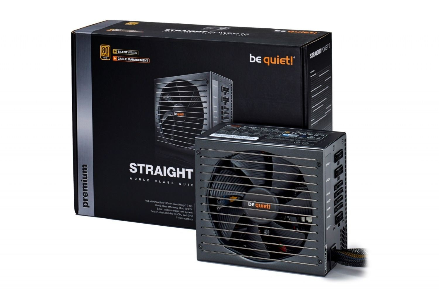 be quiet! Zasilacz STRAIGHT POWER 10 600W CM 80PLUS GOLD