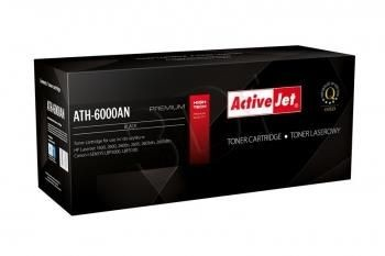 ActiveJet Toner ActiveJet ATH-600B | Black | 2500 str. | Refill + new OPC | HP Q6000A