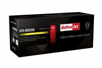 ActiveJet Toner ActiveJet ATH-602Y | Yellow | 2000 str. | Refill + new OPC | HP Q6002A