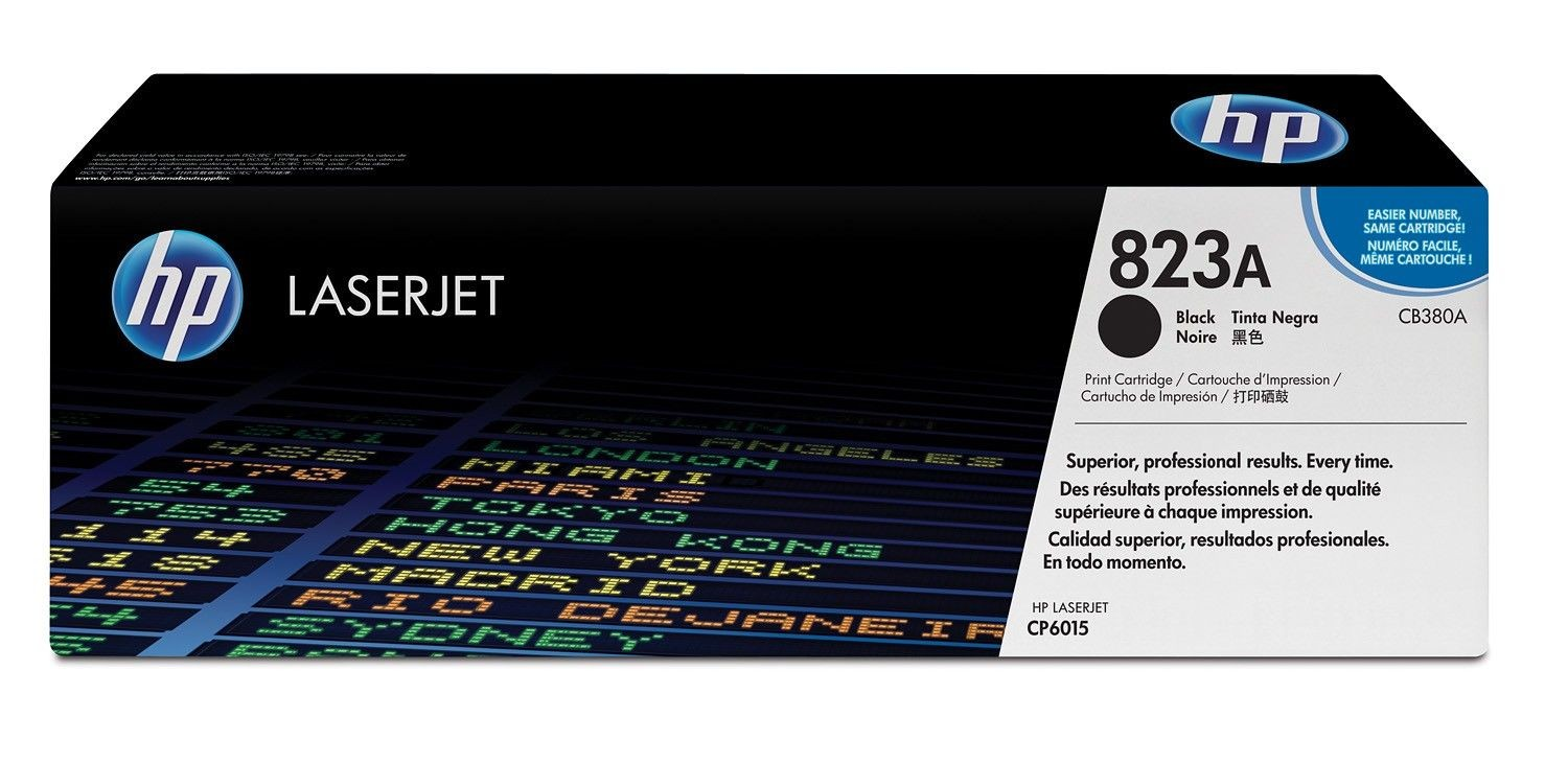 HP Toner HP black | 16500str | CP6015