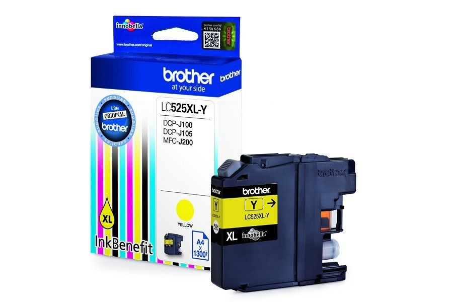 Brother TUSZ DCP-J100/J105 YELLOW 1.3K /LC525XL-Y